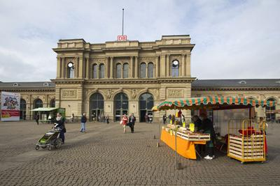 Central station Mainz