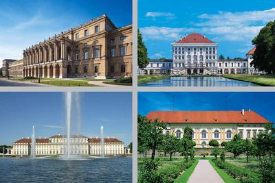 Palace Complexes in and around Munich