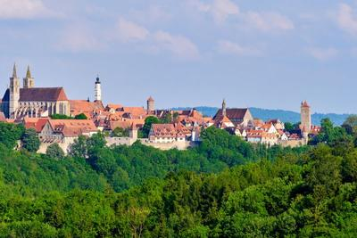 Rothenburg and Harburg