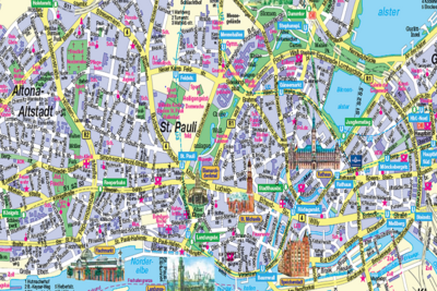 City Map Hamburg