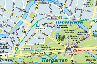 City Map Berlin