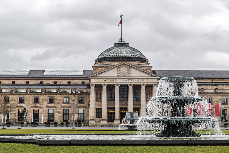 Wiesbaden Parkhaus Kurhaus